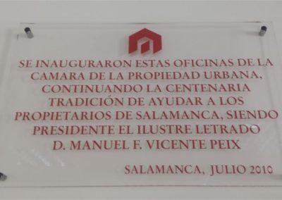 Instalaciones Cámara Propiedad Urbana Salamanca 26