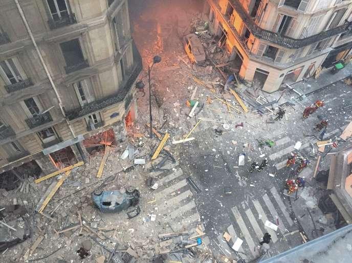 FRANCIA: Explosion de la rue de Trévise : comment est contrôlé le réseau de gaz à Paris ?