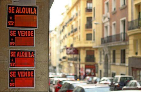 Los madrileños destinan casi la mitad del sueldo a pagar el alquiler
