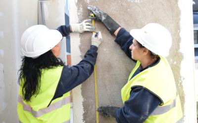 Formación, herramienta para aumentar la presencia femenina en la construcción