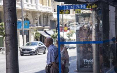 Los asalariados que se jubilan hoy cobran 100 euros más de pensión que los que se retiraron hace un año