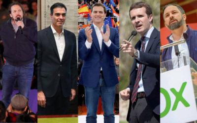 Los españoles tendrán que elegir el 28-A: ¿históricas rebajas de impuestos o expolio fiscal?
