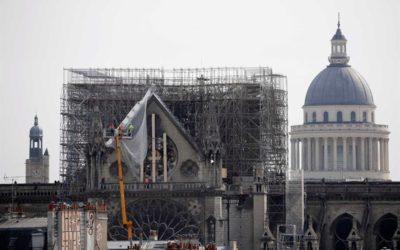"""Manuel Alegre: """"O incêndio da Notre-Dame é a metáfora de uma certa desatenção"""""""