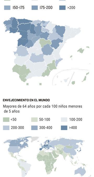 El invierno demográfico español pone a prueba el sistema de pensiones