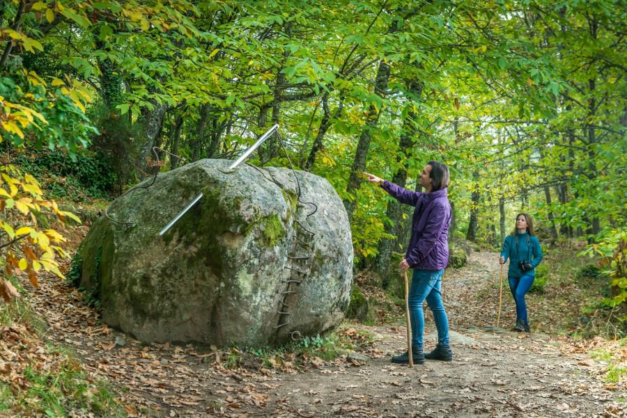 Más de 276.000 visitantes han recorrido estos diez años los Caminos de Arte en la Naturaleza