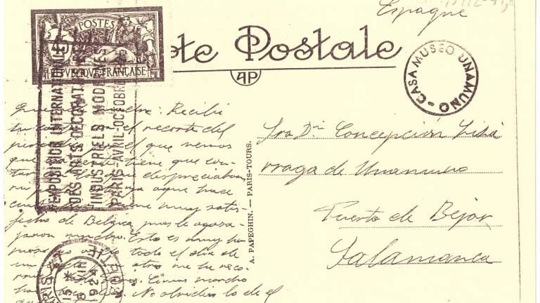 El legado de Unamuno que llegó hasta Puerto de Béjar desde París