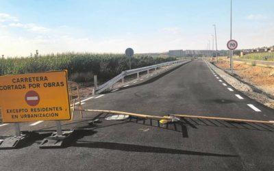 El acceso a Nuevo Naharros, listo a principios de agosto tras doce años de reivindicaciones