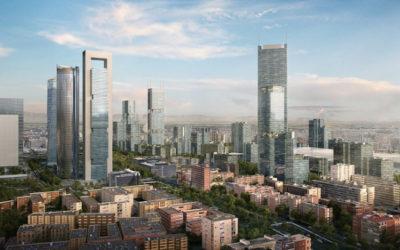 Madrid proyecta el que podría convertirse en el rascacielos más alto de la Unión Europea